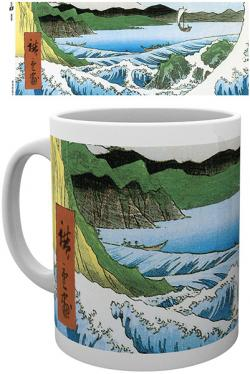 The Sea At Satta by Utagawa Hiroshige Mug