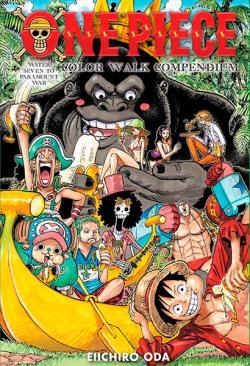 One Piece Color Walk Compendium 2: Water Seven to Paramount War
