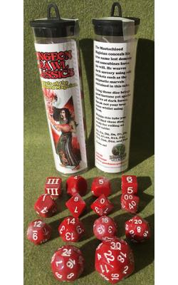 Marvels of the Mustachioed Magician Dice Set (Limited)