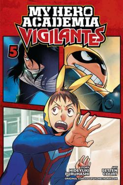 My Hero Academia Vigilantes Vol 5