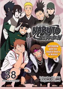 Naruto Shippuden Box Set 38