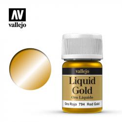 Liquid Red Gold (Alcohol based)
