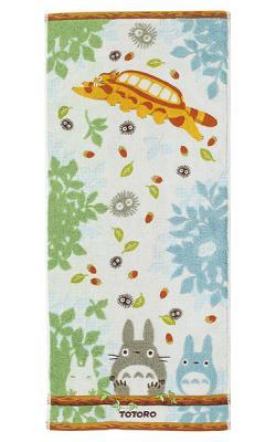 My Neighbor Totoro Towel Totoros & Catbus 34 x 80 cm