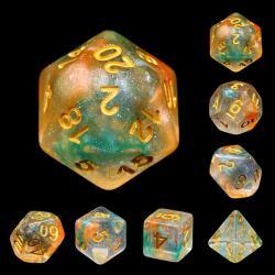 Luminous Koi (set of 7 dice)
