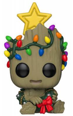 Holiday Baby Groot with Lights Pop! Vinyl Figure