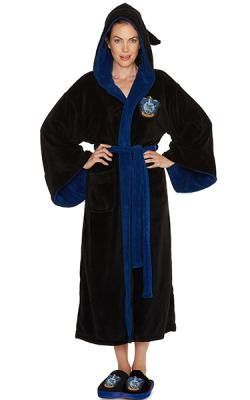 Harry Potter Ravenclaw Ladies Hooded Bathrobe