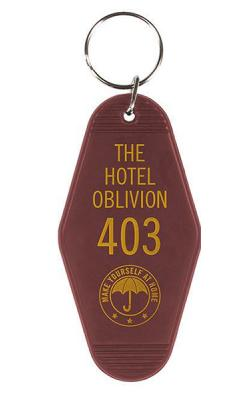 Keychain Hotel Oblivion 9 cm