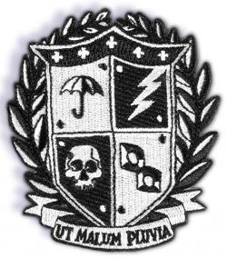Patch Crest Logo Ut Malum Pluvia 8 cm