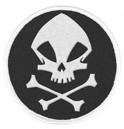 Patch The Kraken Skull Logo 6 cm
