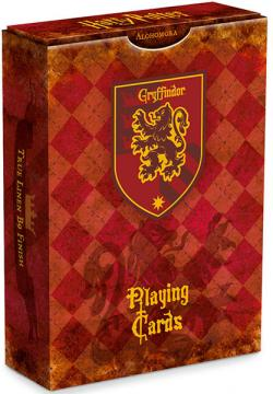 Harry Potter House Playing Cards Gryffindor