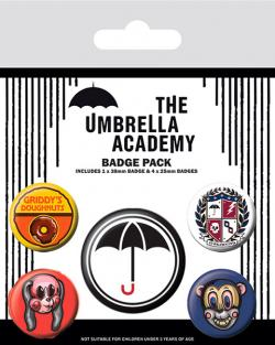 Super Pin Badges 5-Pack