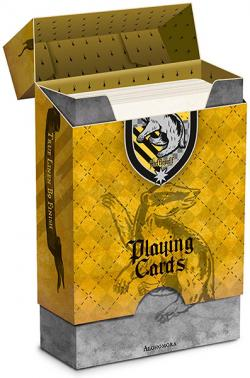 Harry Potter House Playing Cards Hufflepuff