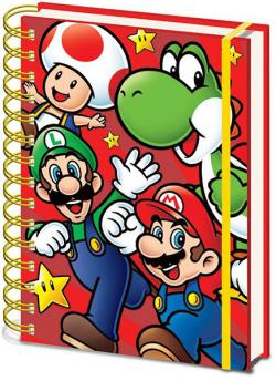 Super Mario Wiro Notebook A5 Run
