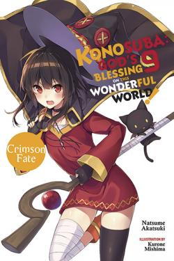 Konosuba Light Novel Vol 9