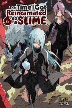 That Time I Got Reincarnated as a Slime Light Novel 6