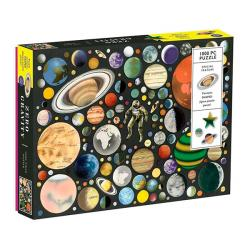 Ben Giles Zero Gravity 1000 Piece Jigsaw Puzzle With Shaped Pieces