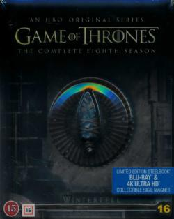 Game of Thrones, Season 8 (4K Ultra HD+Blu-ray)