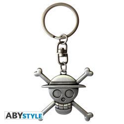 3D Skull Luffy Keychain