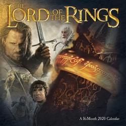 Lord of the Rings 2020 Wall Calendar