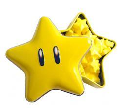 Super Mario Bros Super Star Candies Tins