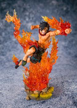 FiguartsZERO PVC Statue Portgas D. Ace Commander of the 2nd Div.