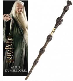 Albus Dumbledore PVC Wand with 3D Lenticular Bookmark