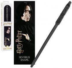 Severus Snape PVC Wand with 3D Lenticular Bookmark
