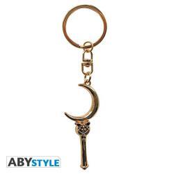Keychain 3D Moon Stick
