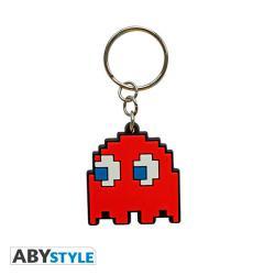 Pac-Man Keychain PVC Ghost Blinky