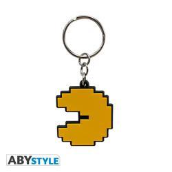 Pac-Man Keychain PVC