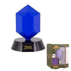 Blue Rupee Icon Light Lamp