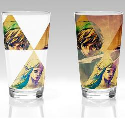 Skyward Sword Hyrule Colour Change Glass 450 ml