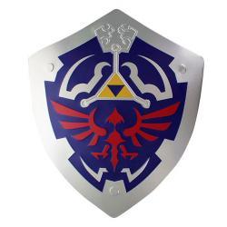 Metal Hylian Shield