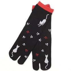 Two-toe Socks Neko no Ashiato (Cat)