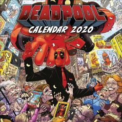 Deadpool 2020 Wall Calendar
