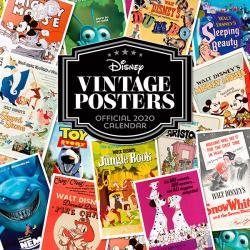 Disney Vintage Posters Official 2020 Calendar