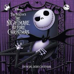Nightmare Before Christmas 2020 Wall Calendar
