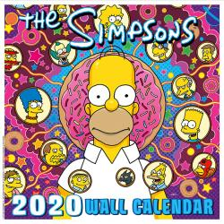 Simpsons Wall Calendar 2020