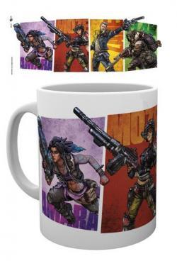 Borderlands 3 Mug Vault Hunters