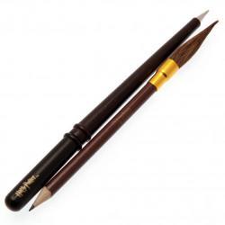 Harry Potter Wand & Broom Pen & Pencil Set