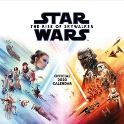 Star Wars The Rise of Skywalker 2020 Wall Calendar