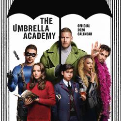 The Umbrella Academy 2020 Wall Calendar