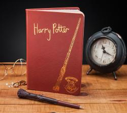 Harry Potter Notebook with Wand Pen