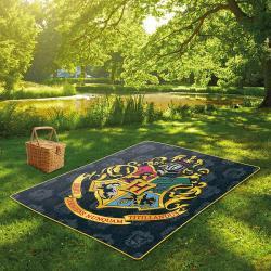 Hogwarts Crest Picnic Blanket