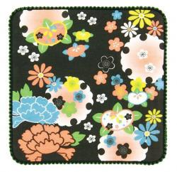 Mini Towel Japanese Flowers