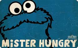 Breakfast Board Cookie Monster Mr. Hungry