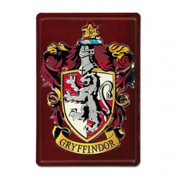 Harry Potter Tin Sign Gryffindor Classic