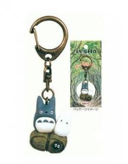 My Neighbor Totoro PVC Keychain Middle & Small Totoro