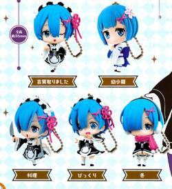 Rem ga Ippai Capsule Collection Figure