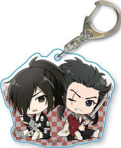 Hyakkimaru & Tahomaru GyuGyutto Acrylic Key Chain